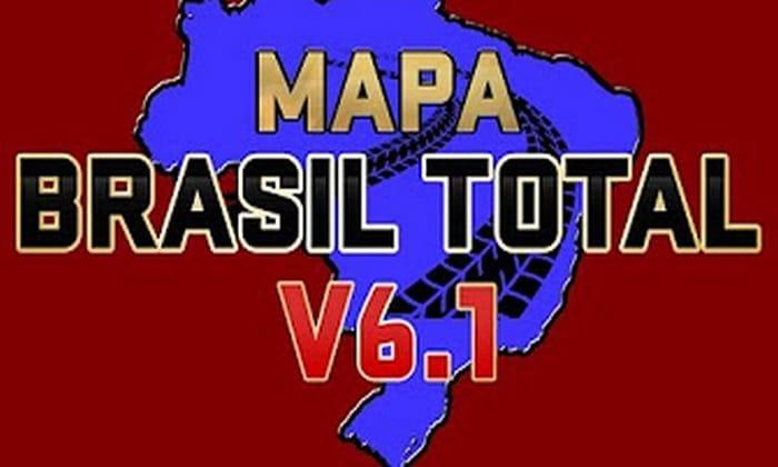 Mapa Brasil Total V.6.1 Para V.1.30.X - ETS2