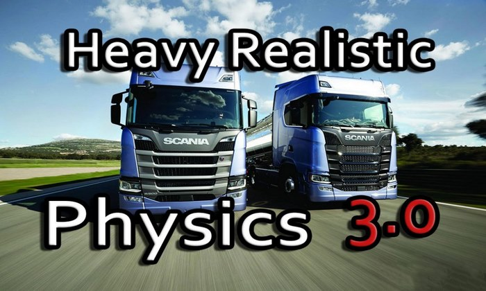 Mod Física Realista V.3.0 Para V.1.30.X - ETS2
