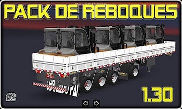 Pack de Reboques Brasileiros V.1.2 Para V.1.30.X - ETS2