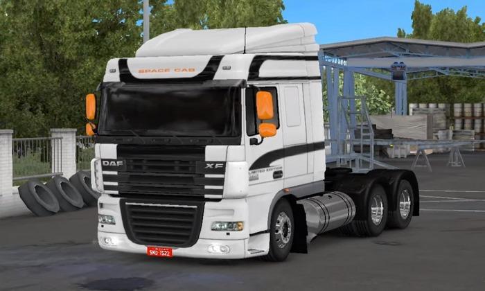 Caminhão Daf XF BR Para V.1.30.X - ETS2