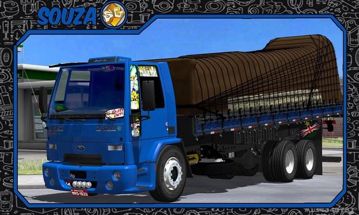 Caminhão Ford Cargo 2422 Para V.1.30.X - ETS2