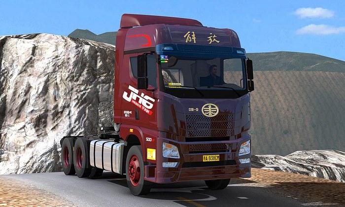 Caminhão Liberation of FAW JH6 Para V.1.30.X - ETS2