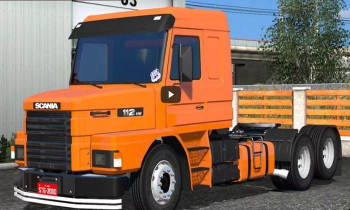 Caminhão Scania 112 Original Para V.1.30.X - ETS2
