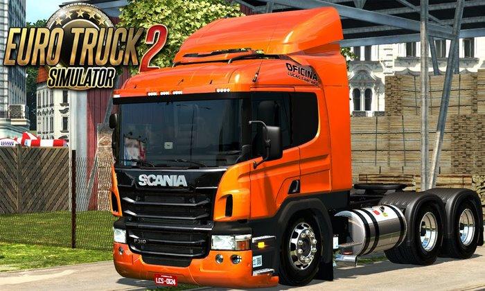 Caminhão Scania P-310 V.2.0 Para V.1.30.X - ETS2