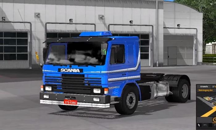Caminhão Scania P93h Para V.1.30.X - ETS2