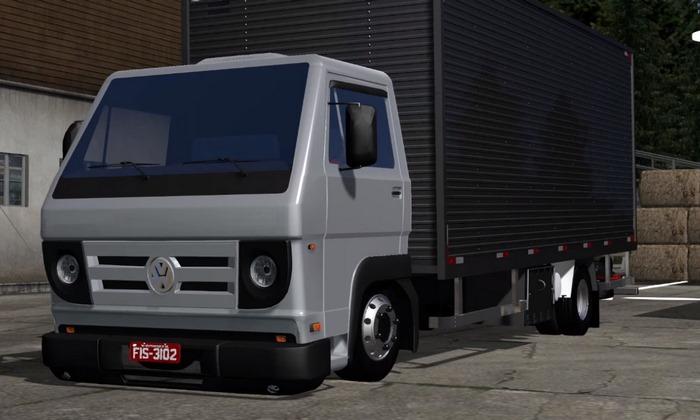 Caminhão Volkswagen Delivery 8-150 Baú Para V.1.30.X - ETS2