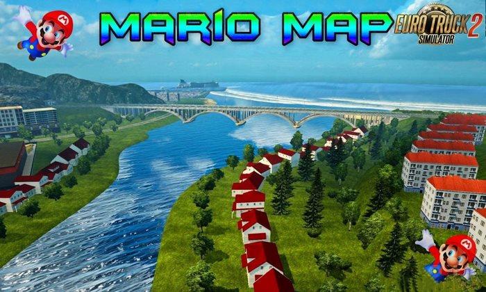Mapa Mario Para V.1.30.X - ETS2