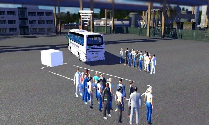 Mod Passageiros de Ônibus Para V.1.30.X - ETS2