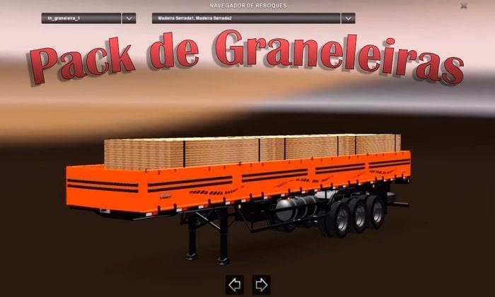 Pack de Graneleiras Standalones Para V.1.30.X - ETS2