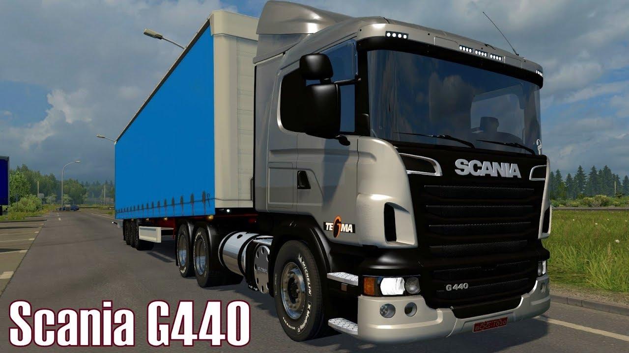 Caminhão Scania G440 Para V.1.30.X - ETS2