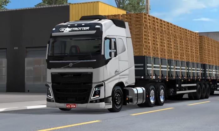 Caminhão Volvo FH16 420 Para V.1.30.X - ETS2
