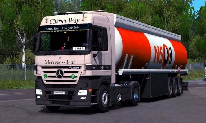 Caminhão Mercedes Benz MP2 V.1.0 Para V.1.30.X - ETS2