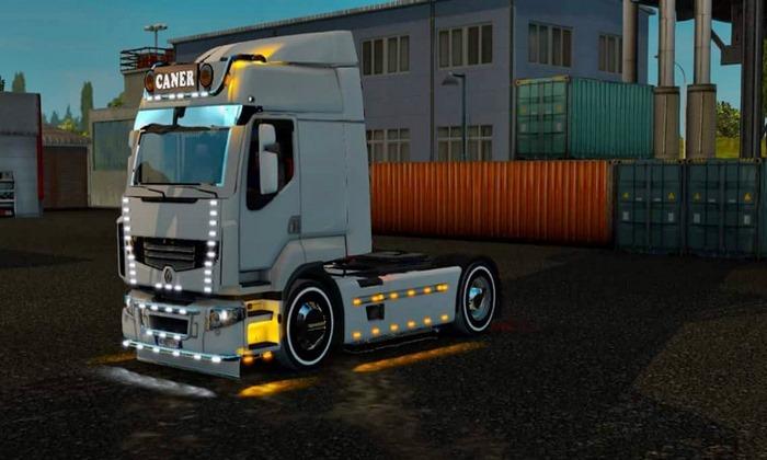 Caminhão Renault 460 Turquia Para V.1.30.X - ETS2