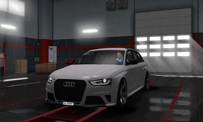 Carro Audi A4 Avant 2010 Para V.1.30.X - ETS2