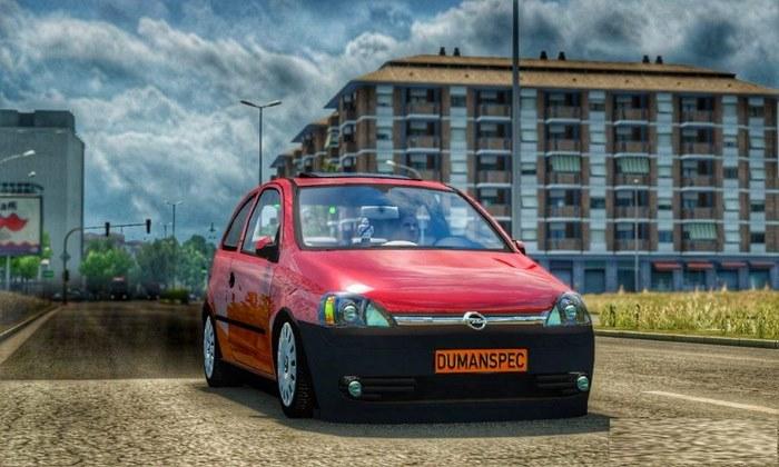 Carro Opel Corsa C 1.7 DTI Para V.1.30.X - ETS2