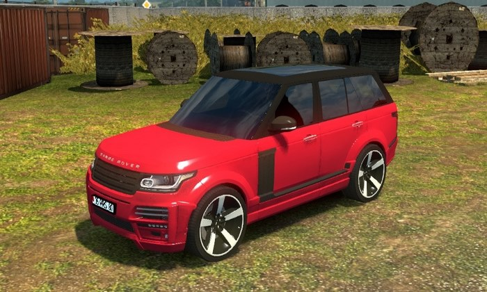Carro Range Rover Startech 2018 V.1.0 Para V.1.30.X - ETS2