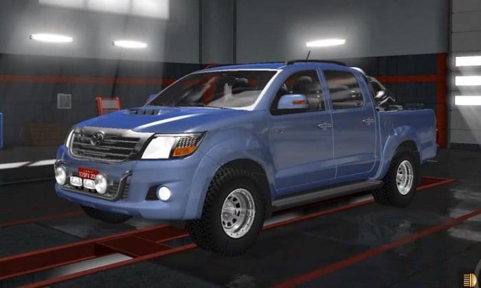 Carro Toyota Hilux 2016 V.2.0 Para V.1.30.X - ETS2