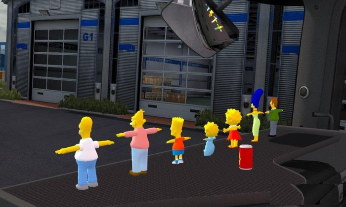 Mod Acessórios Simpsons Para Interior V.1.1 Para V.1.30.X - ETS2