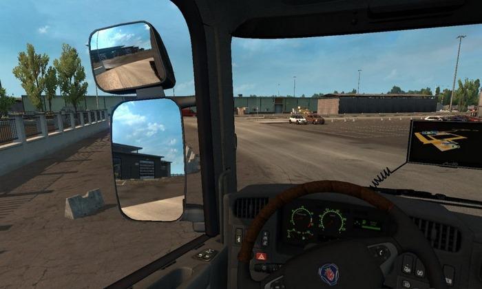 Mod Espelhos Realista V.2.0 Para V.1.30.X - ETS2