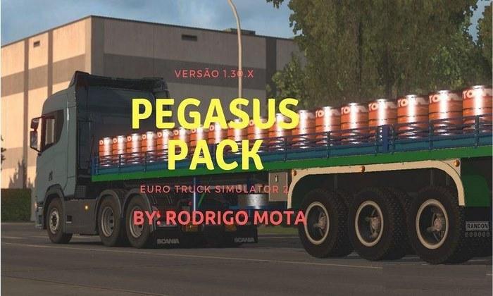 Pack de Cargas Pegasus 2018 Para V.1.30.X - ETS2