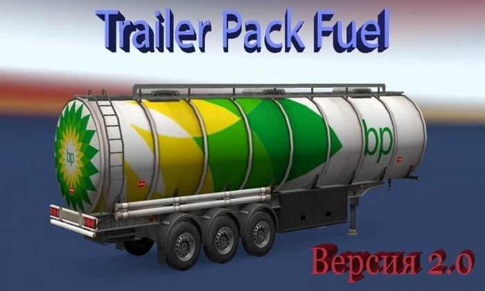 Pack de Cargas de Combustíveis V.1.02 Para V.1.30.X - ETS2