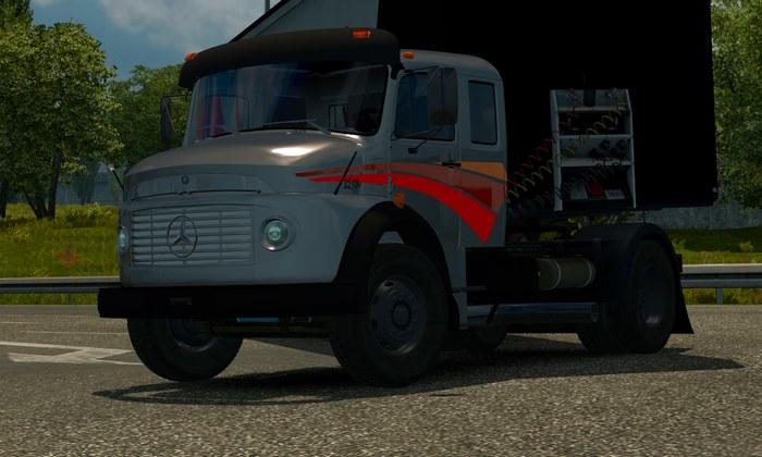 Caminhão Mercedes Benz 1519 Para V.1.31.X - ETS2