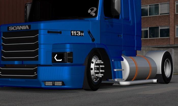 Caminhão Scania 113 Charada Edit Para V.1.31.X - ETS2