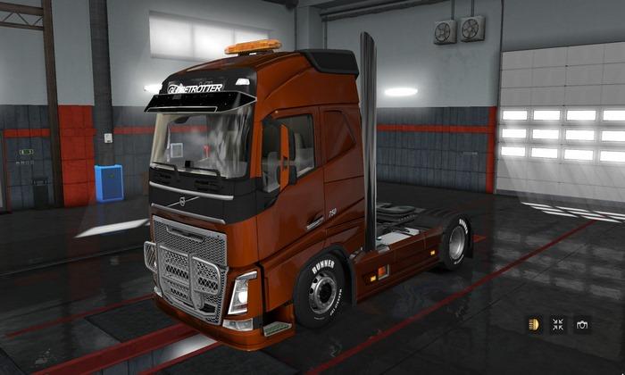 Caminhão Volvo FH 2012 Tuning Para V.1.31.X - ETS2