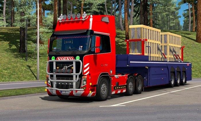 Caminhão Volvo FH16 2009 Edit V.19.0R Para V.1.31.X - ETS2