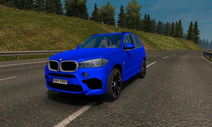 Carro BMW X5M V.1.1 Para V.1.31.X - ETS2