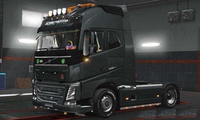 Mod Novos Acessórios + Interior Volvo FH16 V.4.0 Para V.1.31.X - ETS2