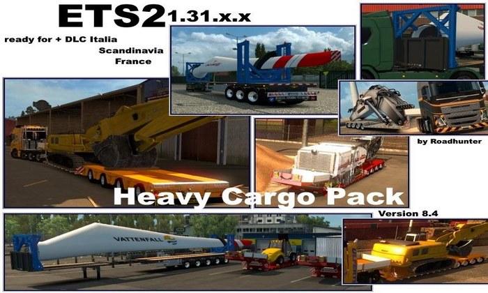 Pack Com Cargas Pesadas V.8.4 Para V.1.31.X - ETS2