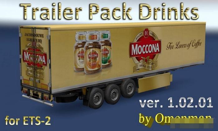 Pack de Cargas Bebidas V.1.02.01 Para V.1.31.X - ETS2