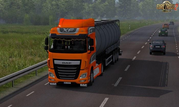Caminhão DAF XF Euro 6 Retrabalhado Para V.1.31.X - ETS2