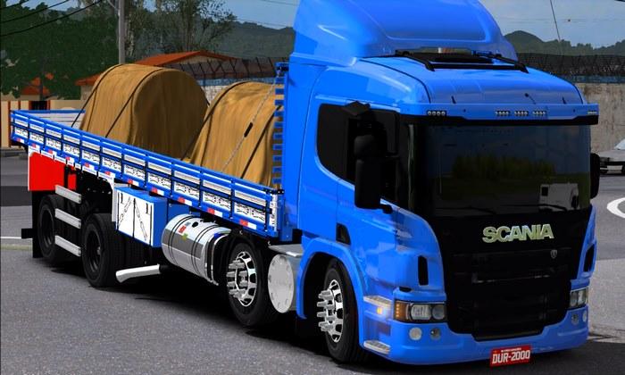 Caminhão Scania P310 BiTruck Para V.1.31.X - ETS2