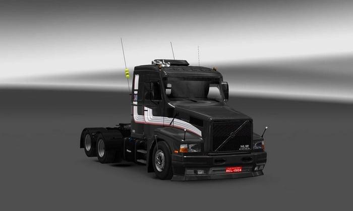 Caminhão Volvo NL12 EDC Para V.1.31.X - ETS2