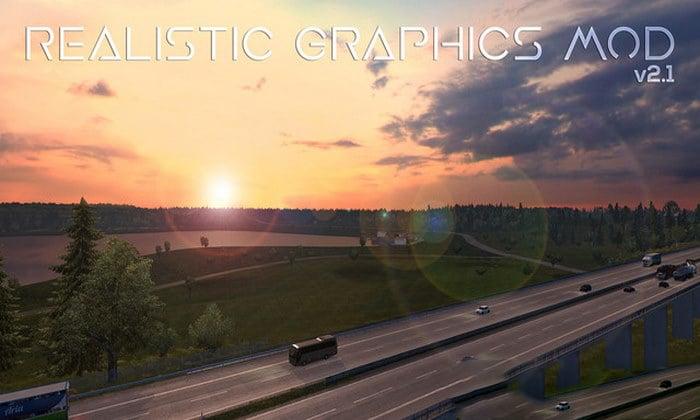 Mod Graficos Realistas V.2.1 Para V.1.31.X - ETS2