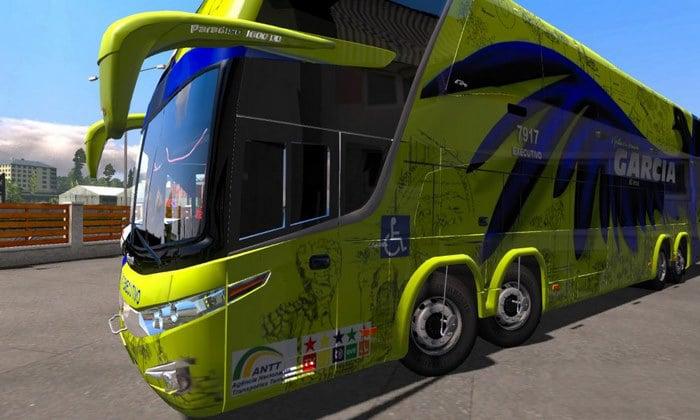 Ônibus Marcopolo G7 1800 DD Para V.1.31.X - ETS2