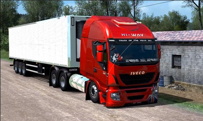 Caminhão Iveco Hi-Way Suspensão a ar Para V.1.31.X - ETS2