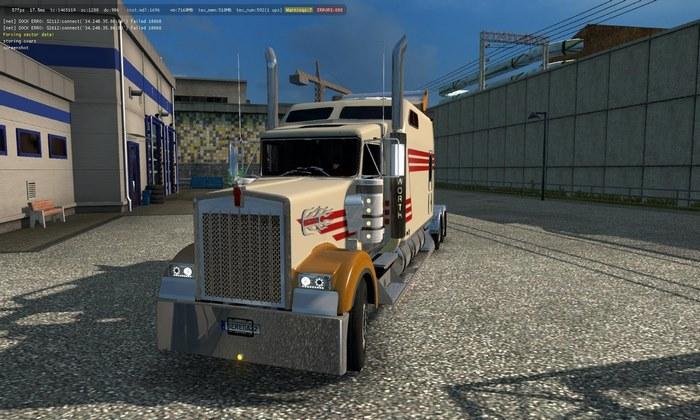 Caminhão Kenworth W900 Long Para V.1.31.X - ETS2