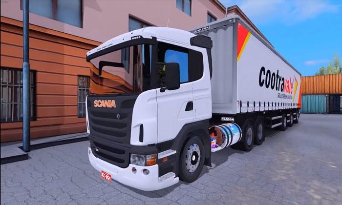 Caminhão Scania G380 Para V.1.31.X - ETS2