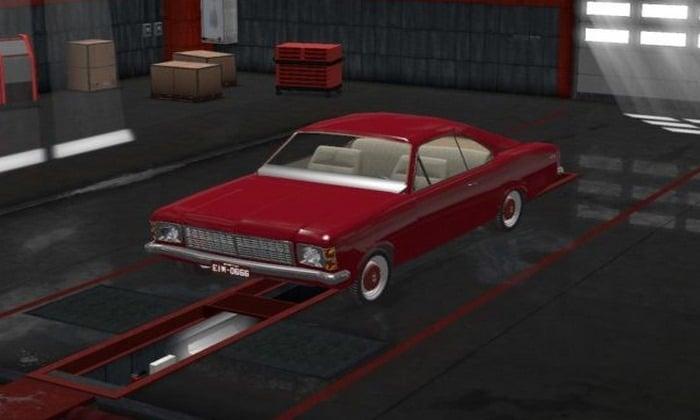 Carro Chevrolet Opala v1.5 Para V.1.31.X - ETS2