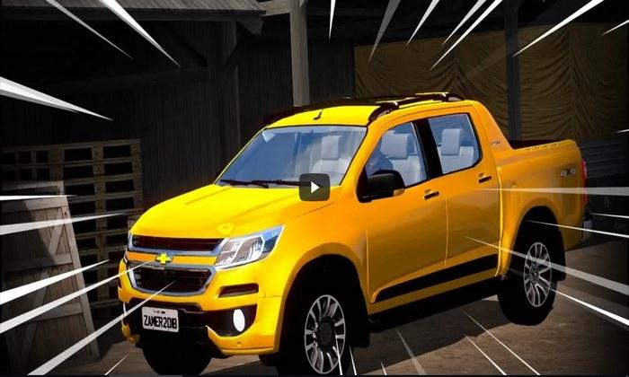 Carro Chevrolet S10 + Interior Para V.1.31.X - ETS2