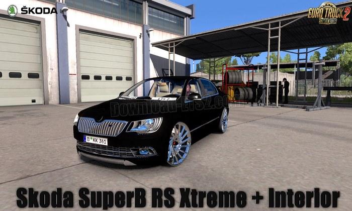 Carro Skoda SuperB RS Xtreme v1.0 Para V.1.31.X - ETS2