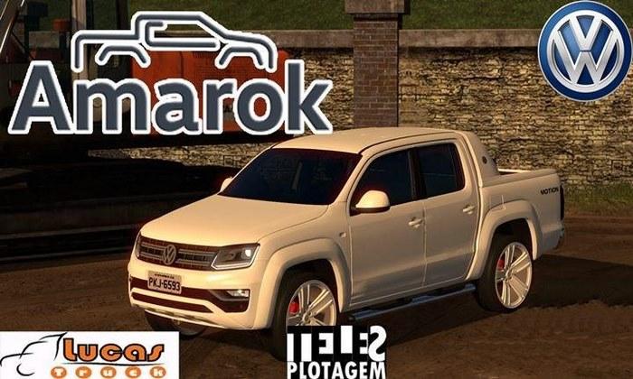Carro VW Amarok Para V.1.31.X - ETS2