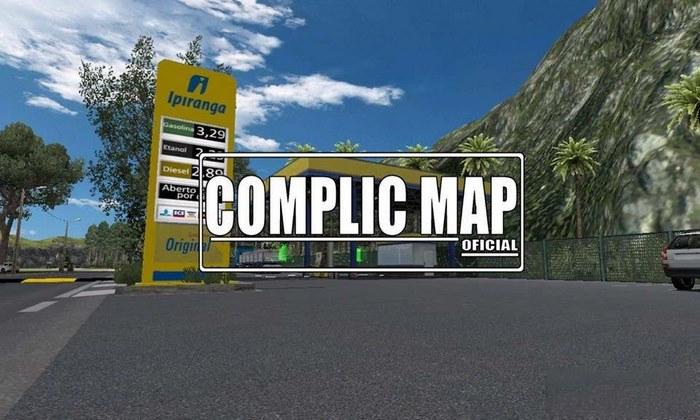 Mapa Complic V.2.1 Para V.1.31.X - ETS2