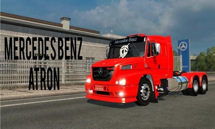 Caminhão Mercedes Atron 1635 v1.0 Para V.1.32.X - ETS2