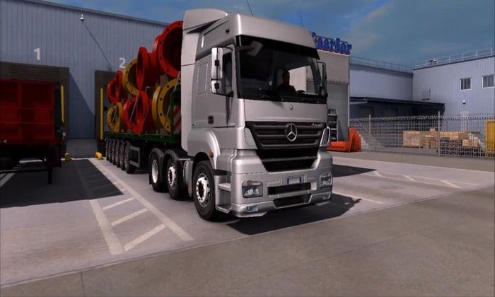 Caminhão Mercedes Axor + Interior v1.0 Para V.1.31.X - ETS2