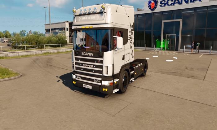 Caminhão Scania 4 Series + Interior v1.0 Para V.1.31.X - ETS2