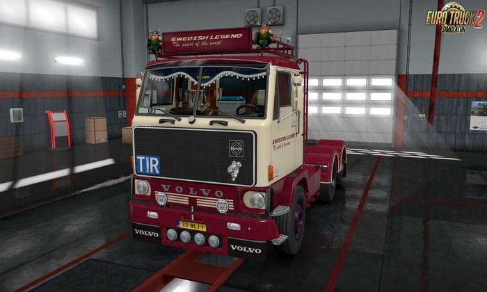 Caminhão Volvo F88 v1.2 Para V.1.31.X - ETS2